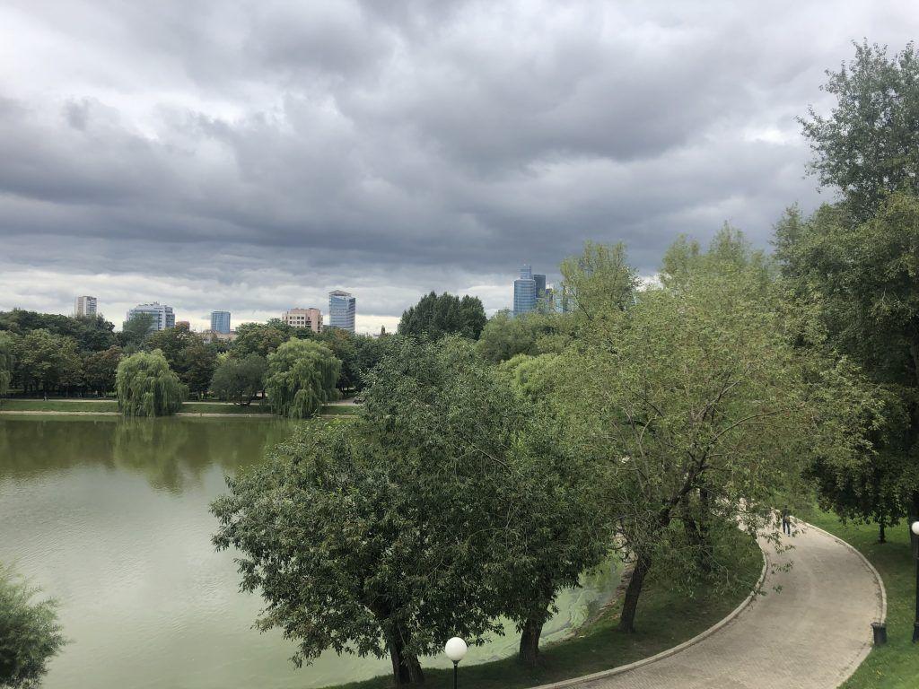 Новодевичьи пруды, парки Москвы
