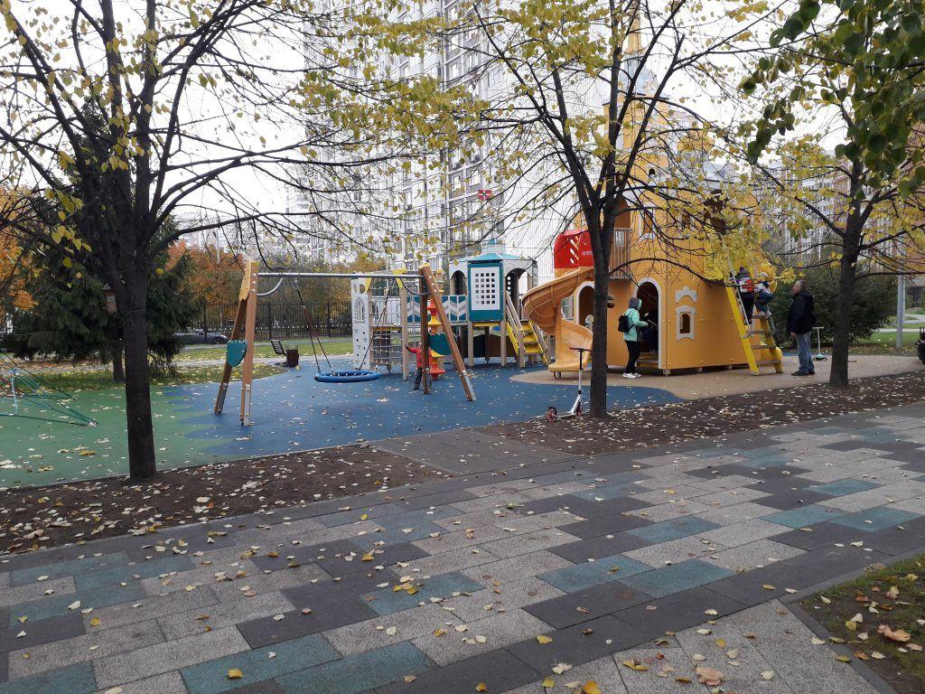 благоустройство, Дюссельдорфский парк, Марьино, детская площадка
