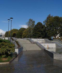 Центральная лестница парка