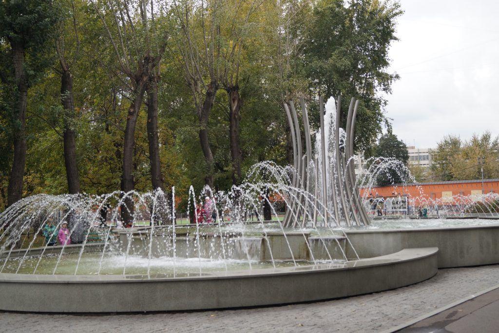 Таганский парк, юбилей, Фонтан