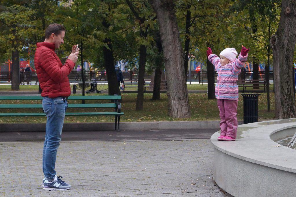 Посетители парка, Таганский парк, юбилей