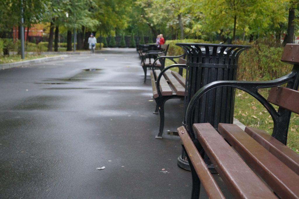 Таганский парк, юбилей, Дорожка в парке