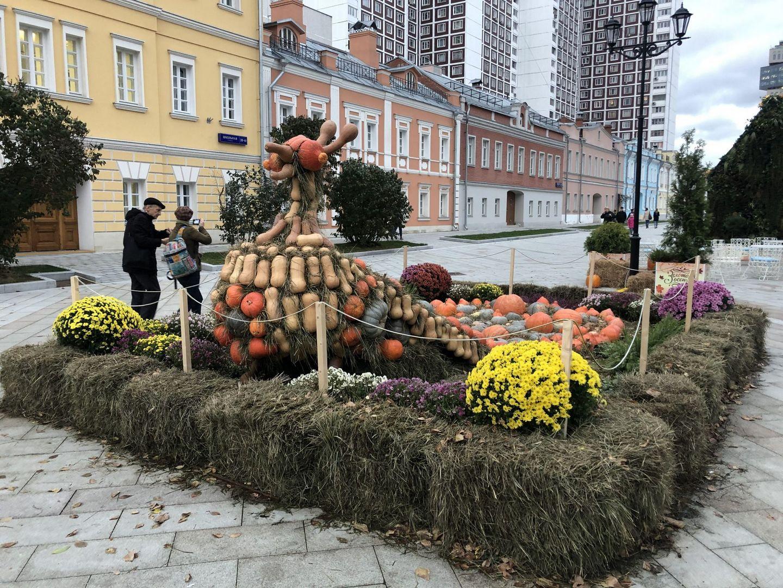 Фестиваль «Золотая осень» радует москвичей необычными, яркими арт-объектами