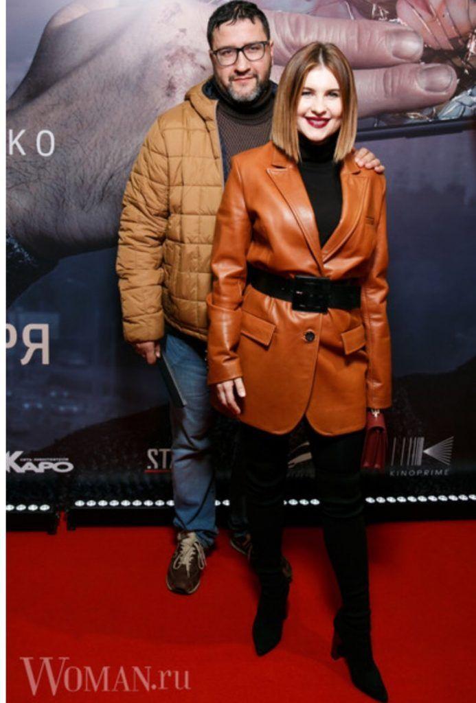 Александр Котт с супругой актрисой Анной Цукановой,анинырассказы