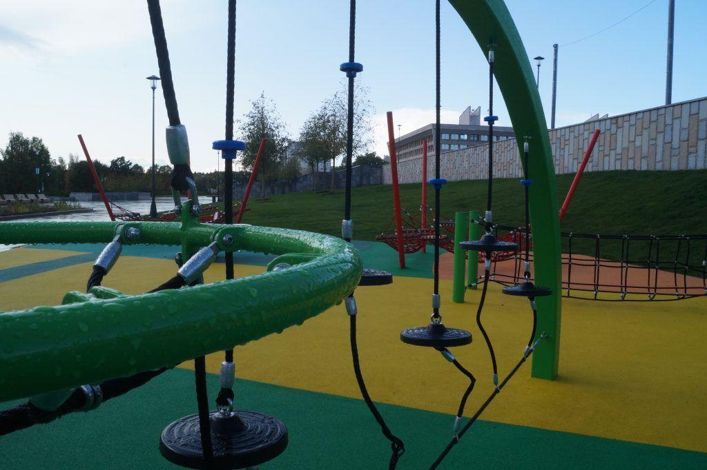 Детская площадка, парк Победы, Зеленоград, благоустройство