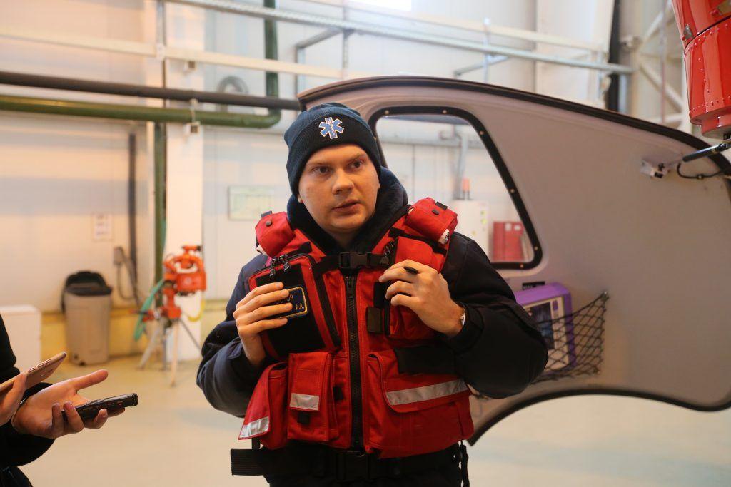 Анатолий Пономарев, спасатели МАЦ