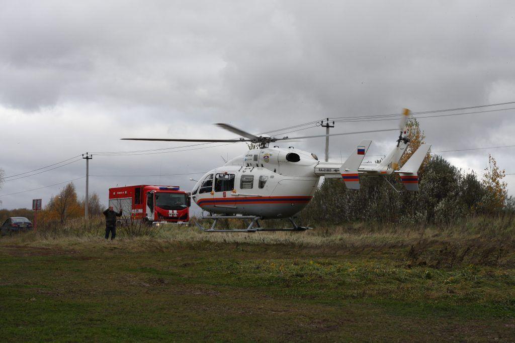 спасатели, МАЦ, вертолет