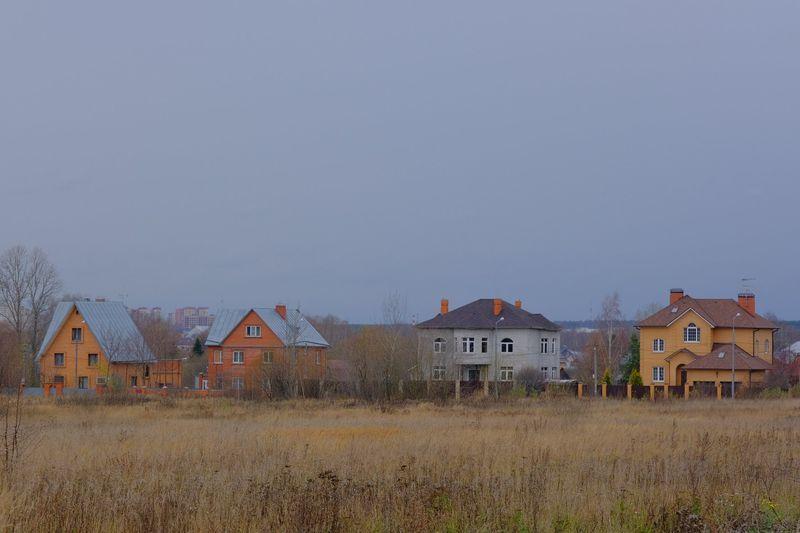 дома, поселок, Толстопальцево