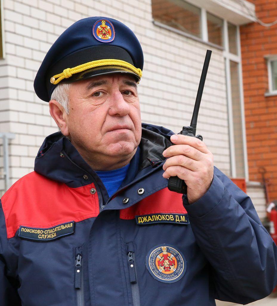 Джамболат Джалюков, спасатели, Мещерская