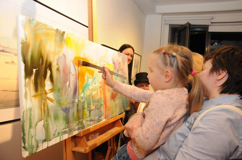 арт-фестиваль, ГУП «Москоллектор», дети, выставка, Мир высокой акварели