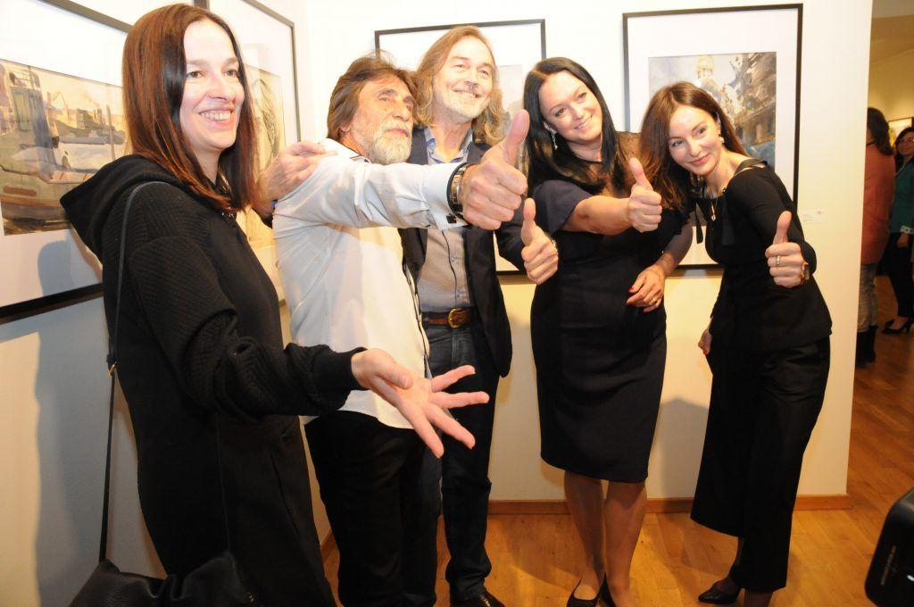 арт-фестиваль, ГУП «Москоллектор», художники, выставка, Мир высокой акварели