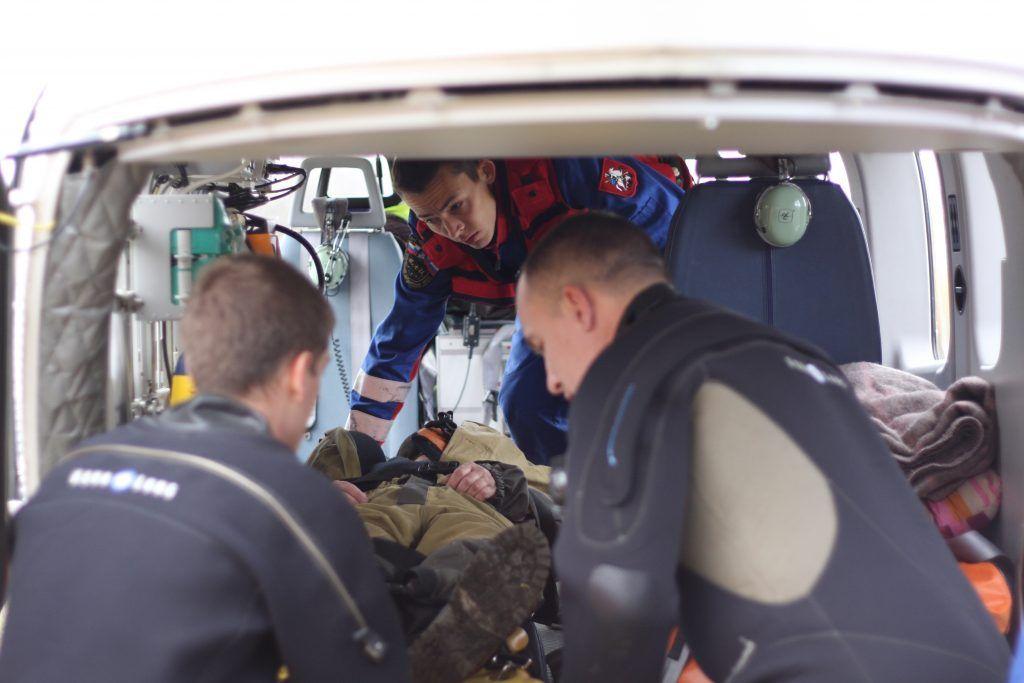 Александр Сергеев, спасатели, вертолет МАЦ