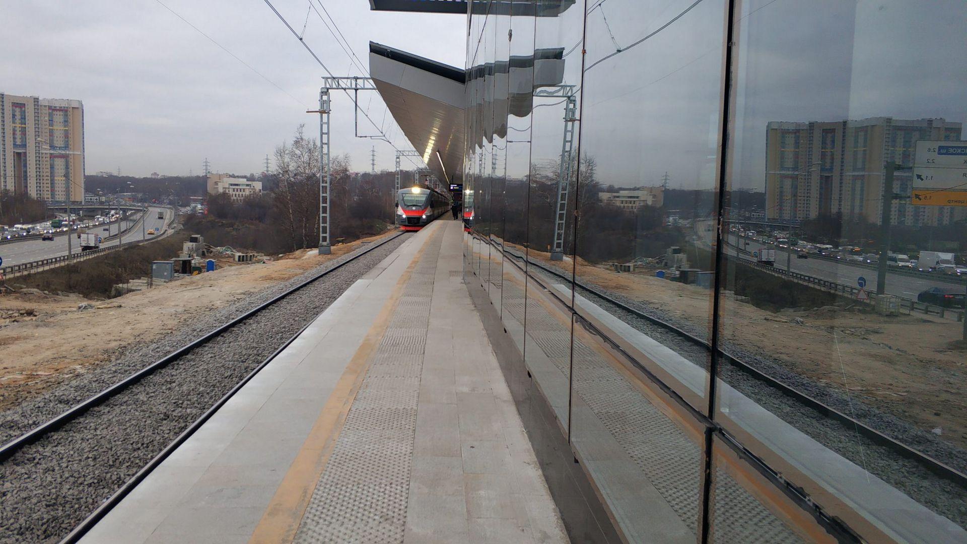 метро, мцд, платформа, поезд