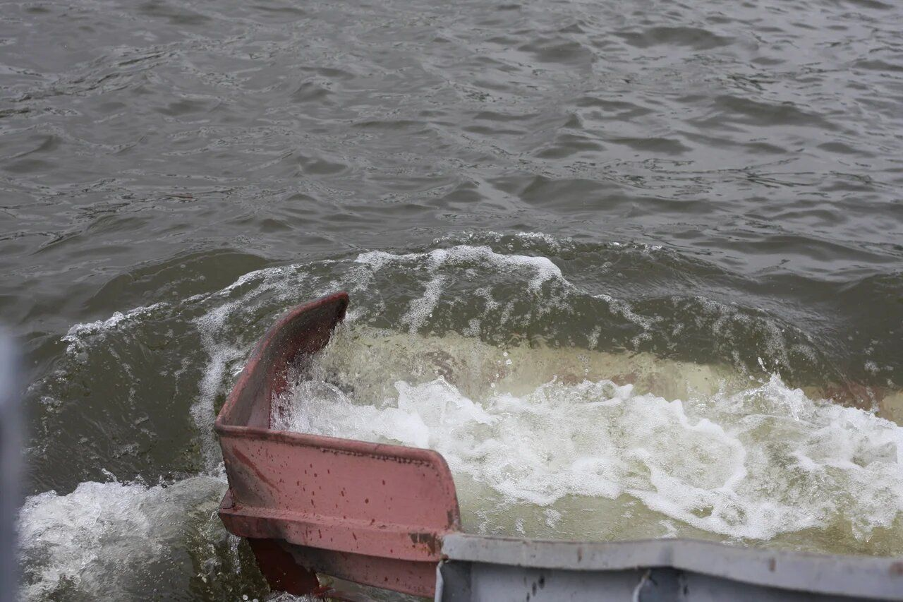 Мосводосток, Москва-река, чистят реку