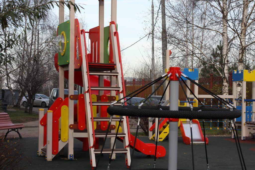 детская площадка, благоустройство, Митино