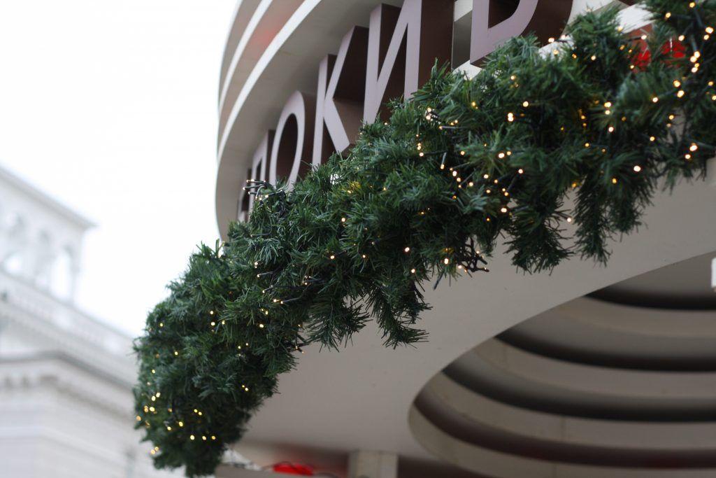 ВДНХ, украшение Москвы, декор, Новый год, зима в Москве, парки Москвы