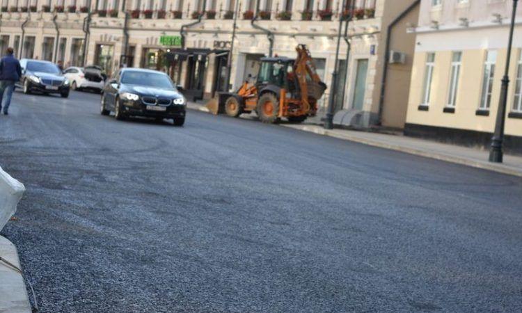 асфальт, ремонт дороги