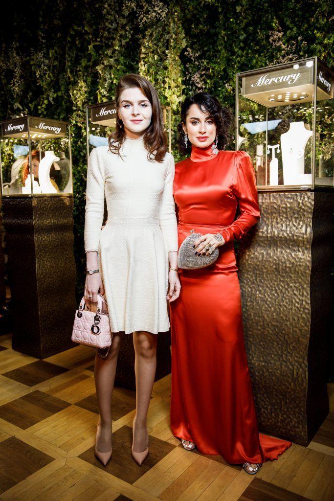 Тина Канделаки с дочерью Меланией Кандрахиной фото Tatler.ru, анинырассказы