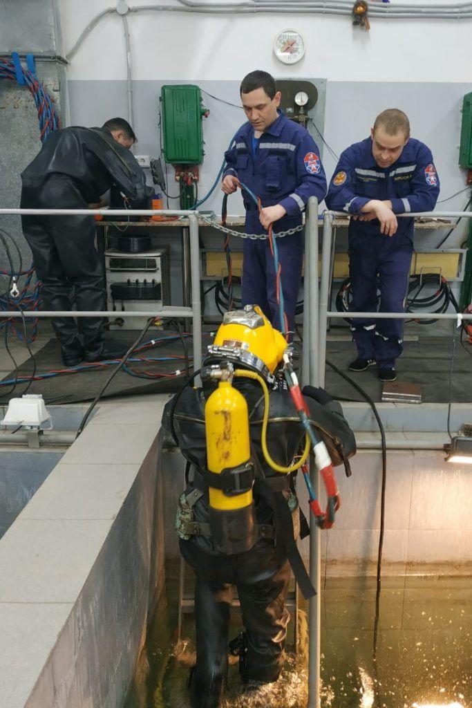 ДмитрийТодуа, водолазы, спасатели