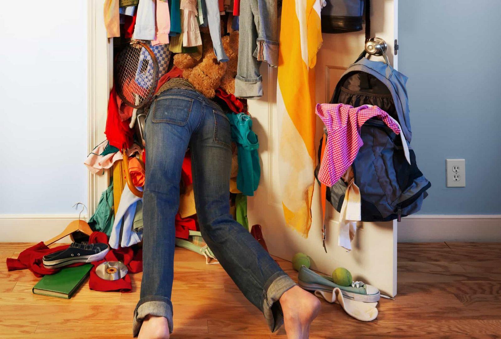 гардероб вещи