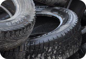 шины, покрышки, утилизация отходов