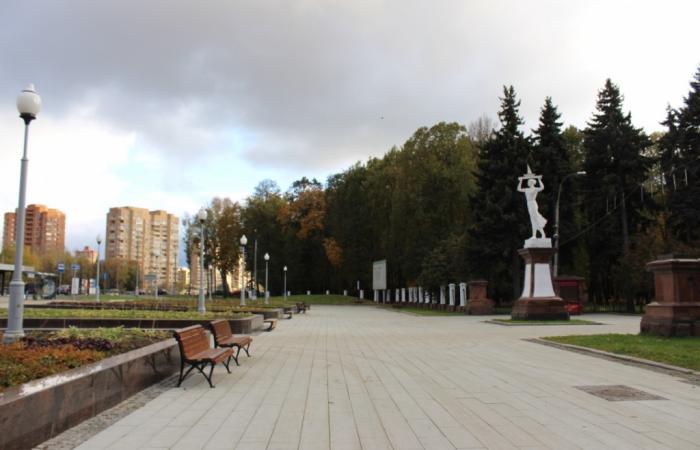 парк, благоустройство, Северный Речной вокзал