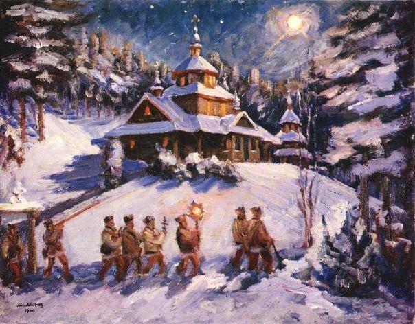 Новый год, зима в Москве, ВДНХ
