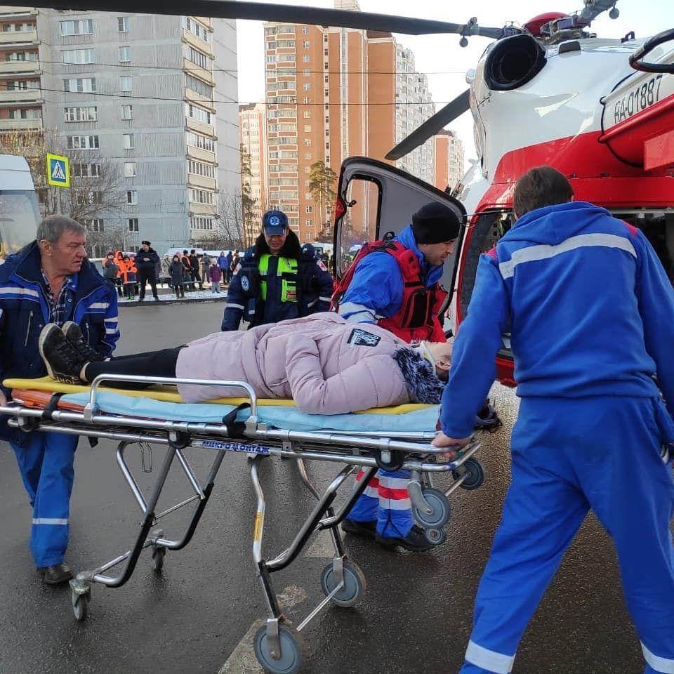 вертолеты МАЦ, пострадавшие