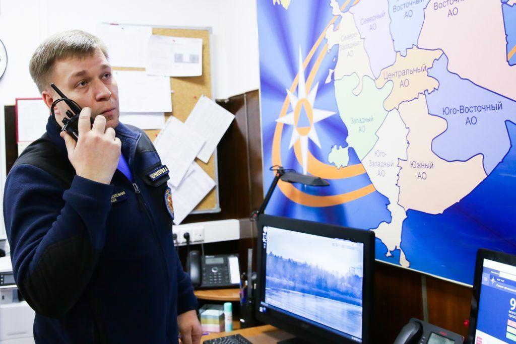 Ярослав Черногоров, Серебряный бор, спасатели