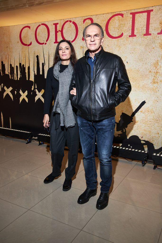 Алексей Гуськов и Лидия Вележева