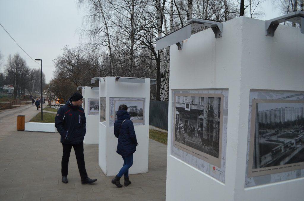 Ретро фотовыставка, Лианозовский парк