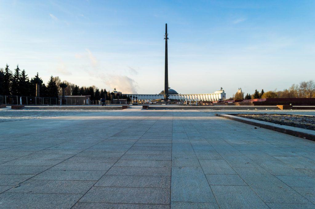 Поклонная гора, парк Победы, капремонт, благоустройство