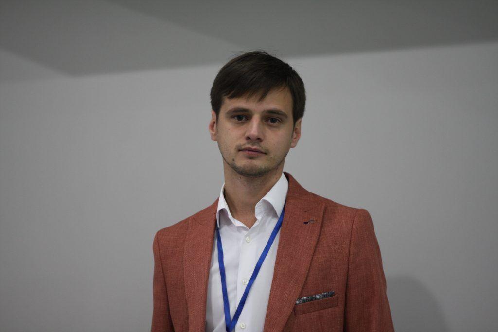 Денис Аширов, руководитель Молодой гвардии города Москвы.