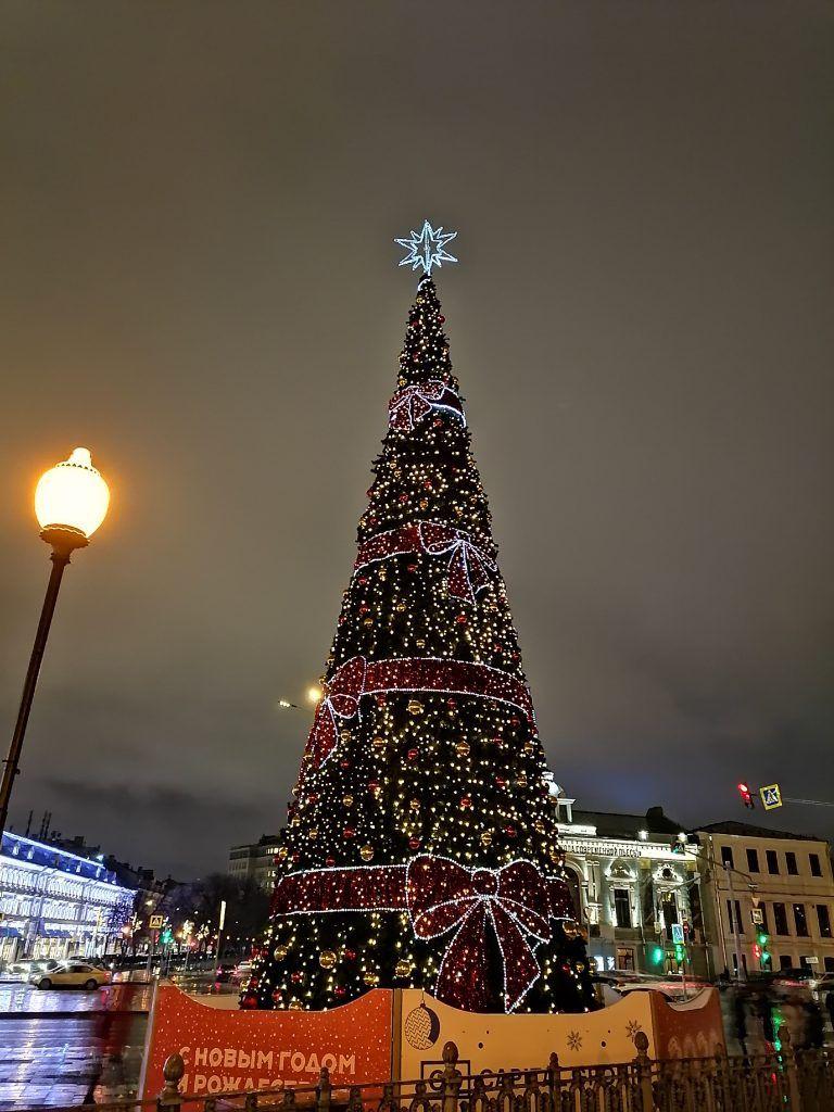 украшение Москвы, Цветной бульвар, новый год, зима в Москве