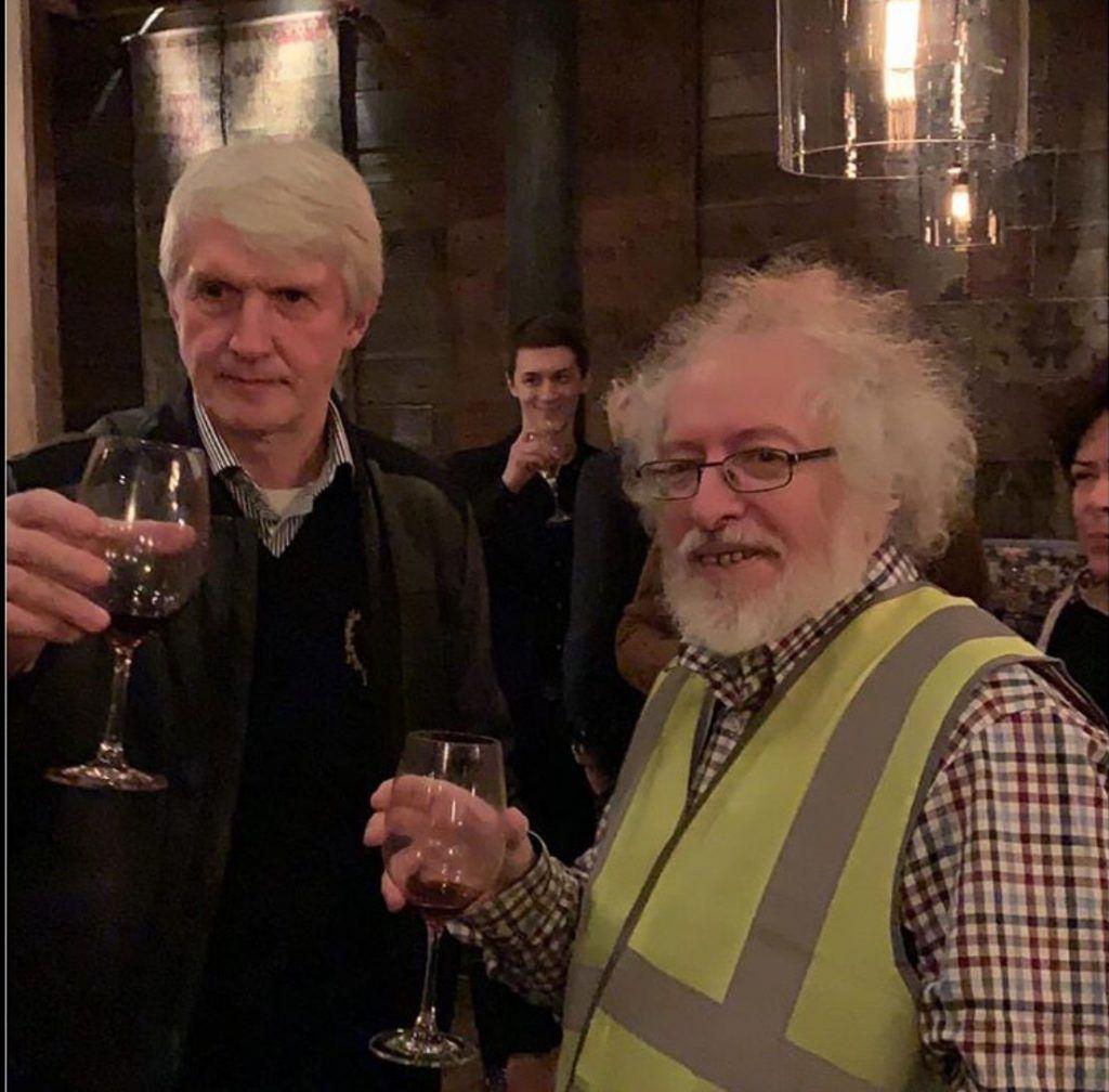 Алексей Венедиктов и Платон Лебедев. Фото: Инстаграм
