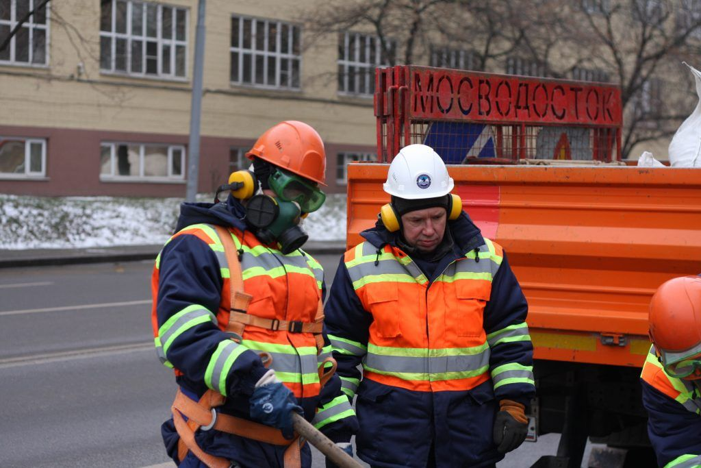 ГУП Мосводосток, ремонт, колодцы