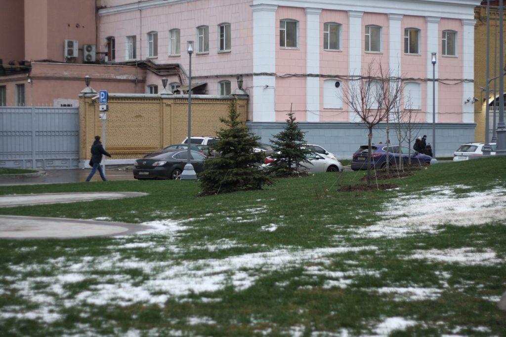площадь Академика Доллежаля, благоустройство