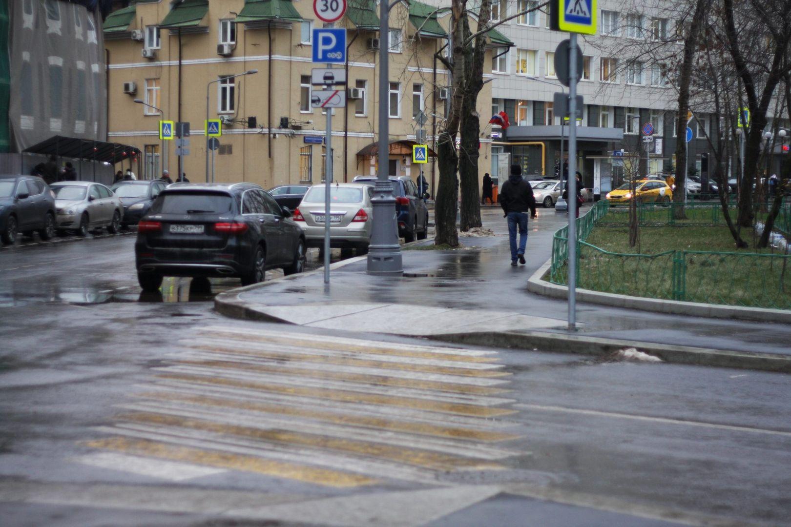 площадь Академика Доллежаля, благоустройство, пешеходный переход