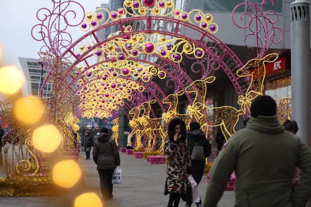 украшение Москвы, парк Победы, Поклонная гора, арка