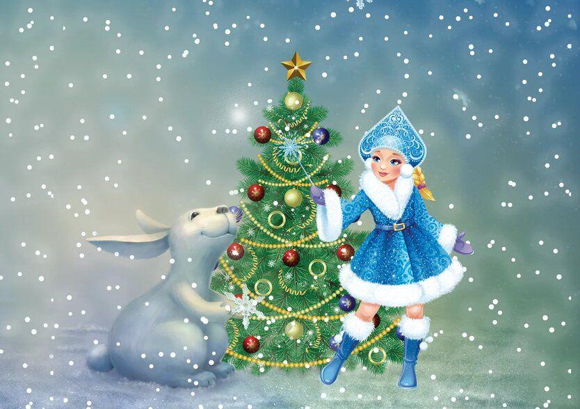 зоо-елки, зоопарк, зима в Москве, Новый год