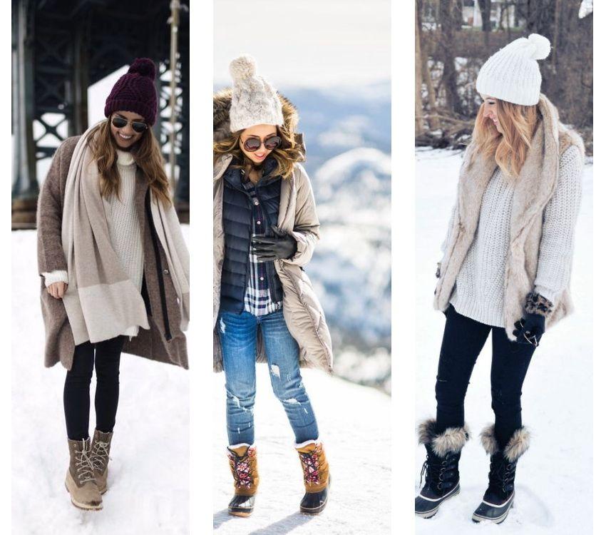 холод, зима в Москве, одежда
