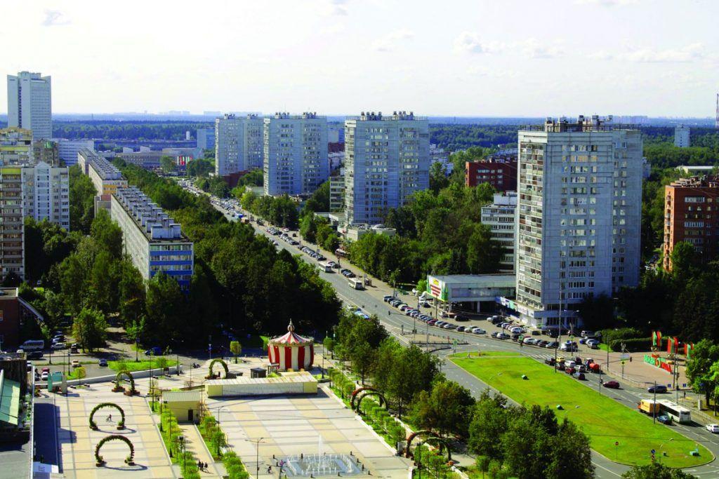 Центральный проспект Зеленограда, благоустройство