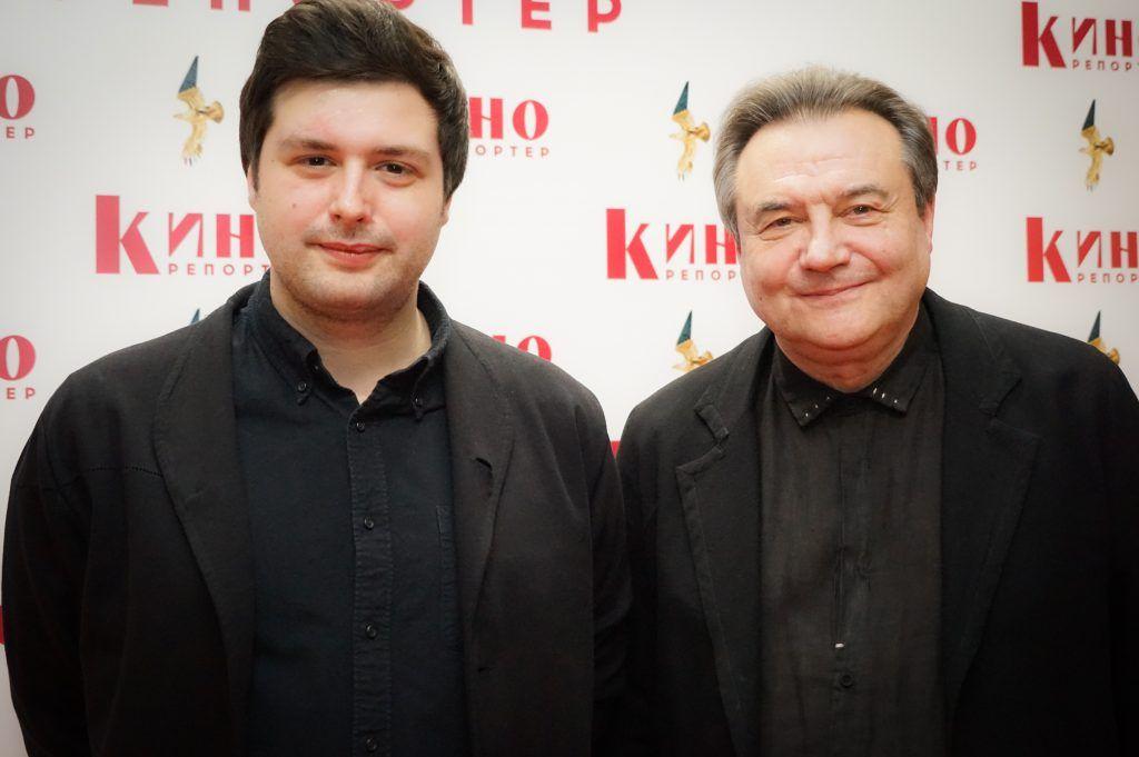 Алексей Учитель с сыном Ильей