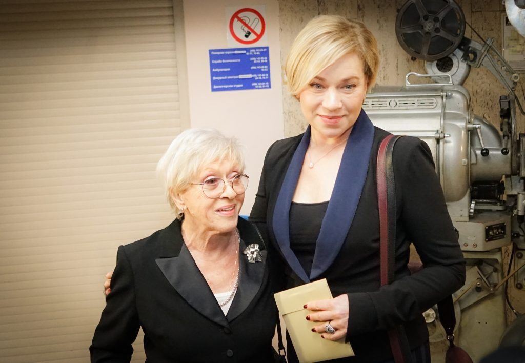 Алиса Фрейндлих с дочерью Варварой
