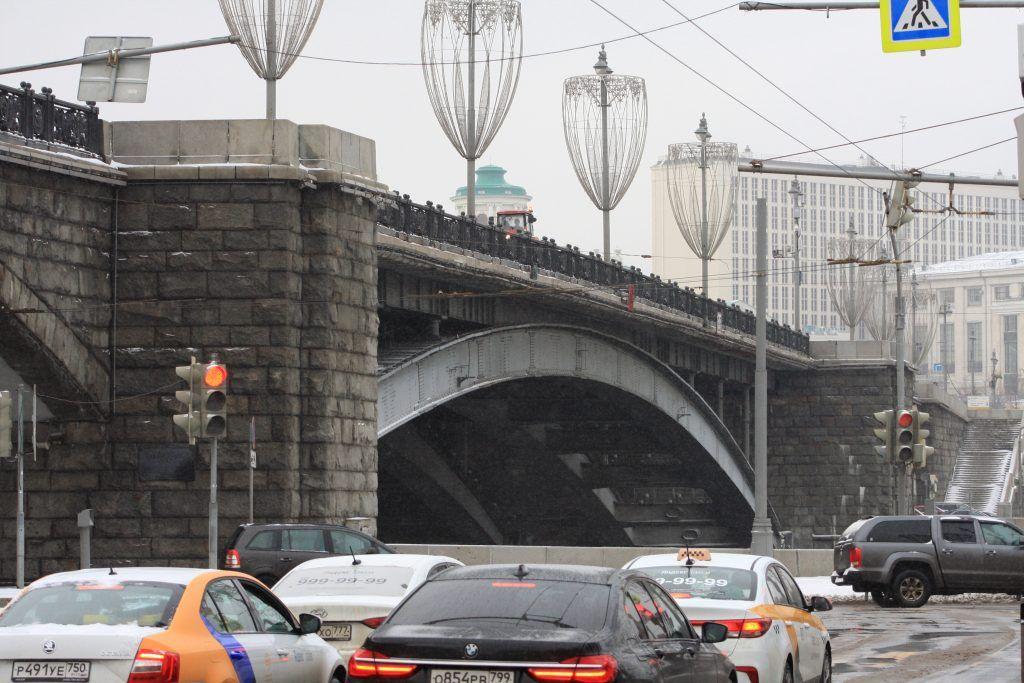 мост, благоустройство