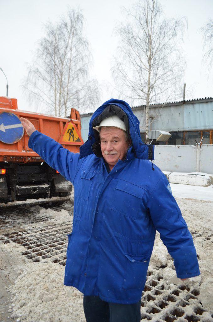 "ССП ""Лихоборский, уборка снега"