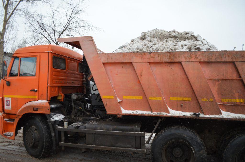 уборка снега, техника