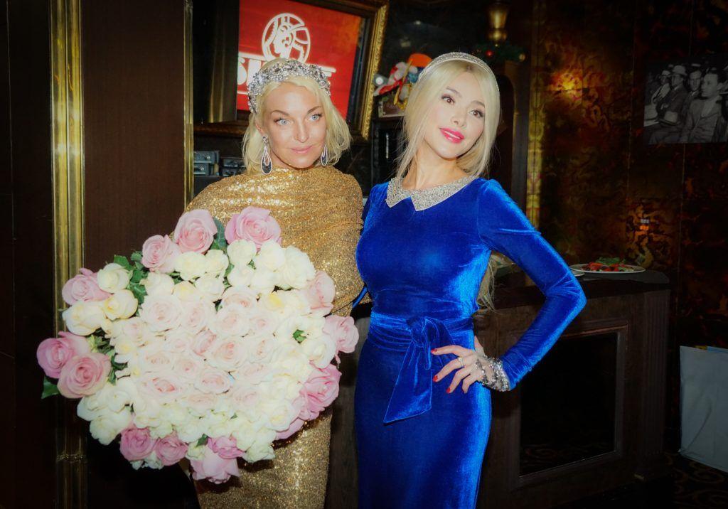 Анастасия Волочкова и Алена Кравец