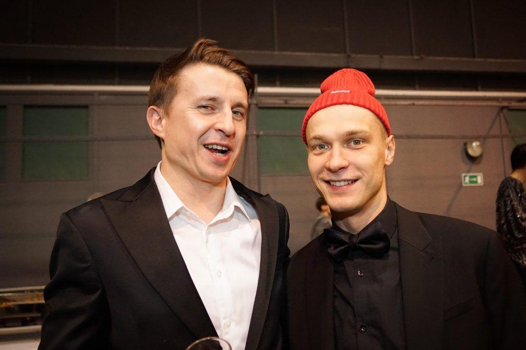 Юрий Борисов (справа)