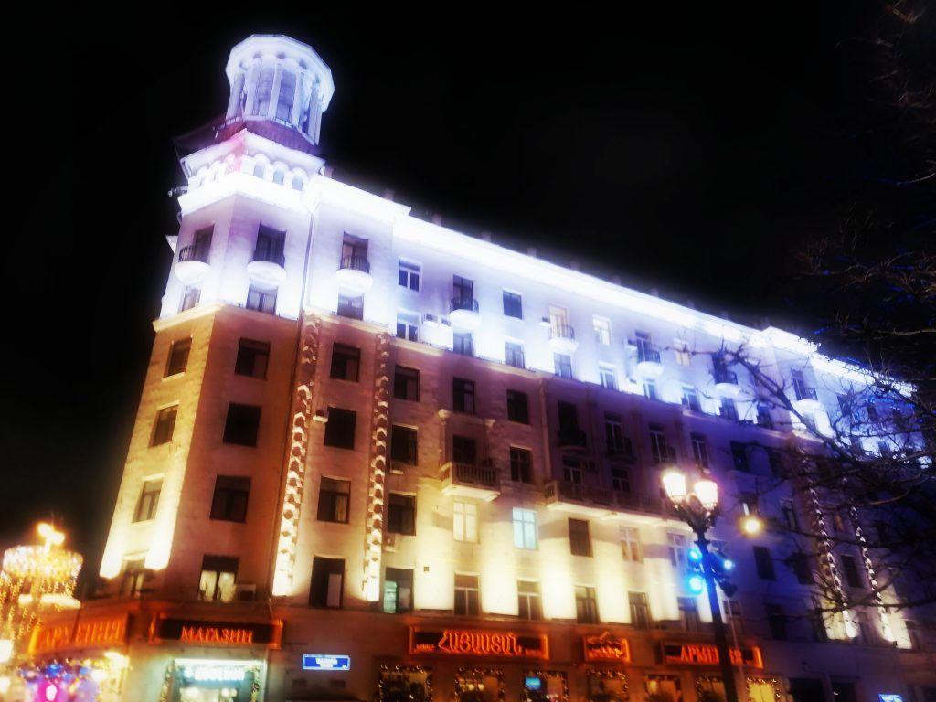 подсветка, украшение Москвы